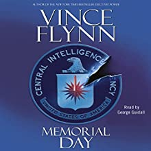 Memorial Day Audiobook by Vince Flynn Narrated by George Guidall