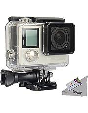 Deyard Wasserfestes Gehäuse mit Schnellspann-System und Daumenschraub für die GoPro Hero 4 und Hero3+ Action Cam - 45m Unterwasser-Fotografie