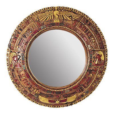 Design Toscano Temple of Luxor: Egyptian Grand - Scale Wall Sculpture Mirror