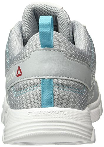 Reebok Trainfusion Nine, Zapatillas de Gimnasia para Mujer Gris  (Cloud Grey / Crisp Blue /  White / Black)