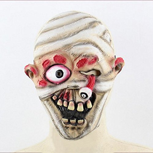 PanDaDa Halloween Costume Party Mask Horror of the zombie mask Digital Zombie Mask