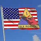 Wanghaojiemimi 82nd Airborne Division Military Logo 3x5 Foot Home Garden Decor Flag
