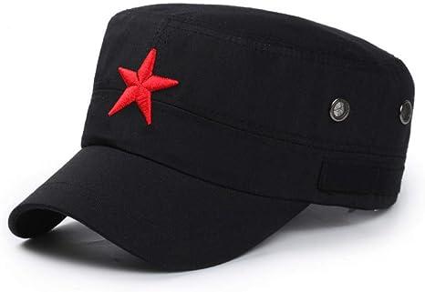 CXKNP Gorra de Beisbol Nueva 3D Estrella Roja Gorra Bordada Hueso ...