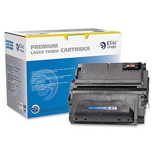Elite Image Remanufactured HP 38A Laser Toner Cartridge - Black - Laser - 12000 Page - 1 Each