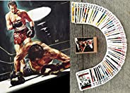 FlonzGift Box Sport Movies Playing Cards (Poker Deck 54 Cards All Different) Vintage Boxing Movies Posters