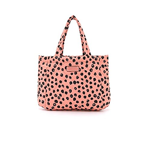 (Marc by Marc Jacobs Women's Crosby Quilted Small Tote, Spring Peach Multi, One)