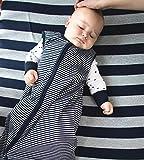 Burt's Bees Baby - Bold Stripe Fitted Crib