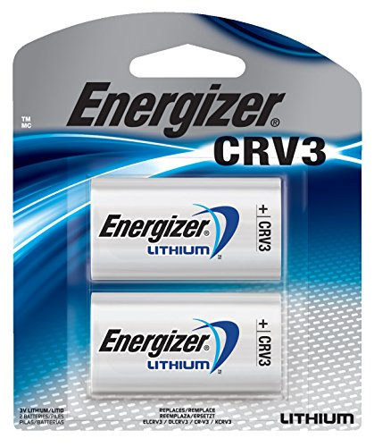 Energizer CRV3 Lithium Photo Batteries, 2-Pack by Eveready