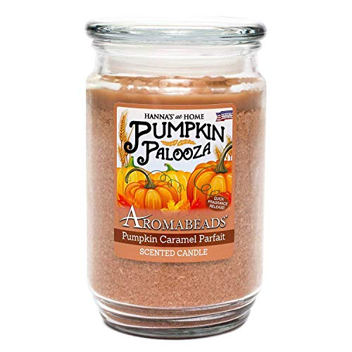 Aromabeads Pumpkin Caramel Parfait Scented - Candle Hannas