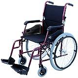 Karman Healthcare LT-980-BD 24 Pound Ultra Lightweight Wheelchair, Burgundy