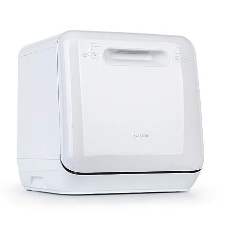 Klarstein Aquatica - Mini lavavajillas de mesa, A, 125 kWh/año, 2 ...