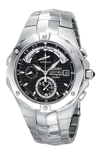 Advanced Chronograph Timer (Seiko Men's SPC015 Coutura Advanced Chronograph Timer Watch)