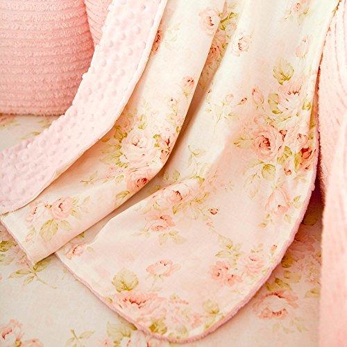 Carousel Designs Shabby Chenille Crib Blanket ()