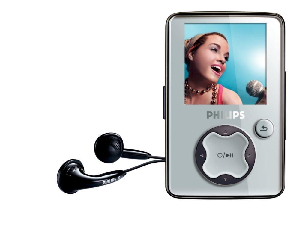 Philips GoGear 2 GB MP3/Video Player (Grey)