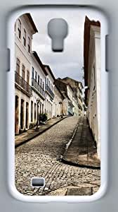 Samsung Galaxy S4 Cases - Old Town Designer PC Case Cover For Samsung Galaxy S4 / SIV / I9500 - White