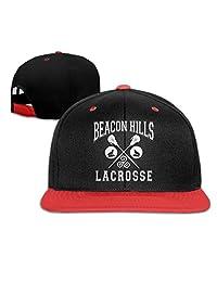 Beacon Hills Lacrosse Baseball Snapback Cap