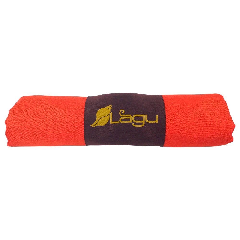 Lagu – sand-repellentビーチブランケット B07261KF43  Tangerino (Orange) Large (60\