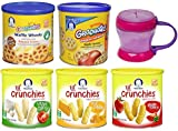 Gerber Graduates Lil Crunchies Variety Pack with