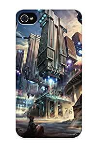 Ideal Resignmjwj Case Cover For Iphone 4/4s(flying Buildings), Protective Stylish Case
