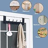 SKOLOO Over The Door Hook Hanger- 6