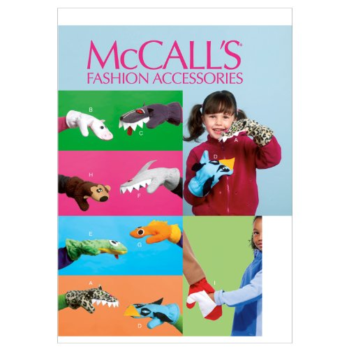 McCalls Patterns Mittens Sewing Template