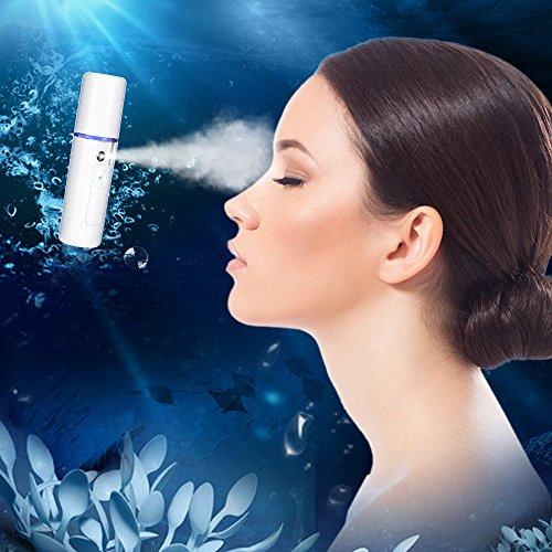 Bromose Nano Face Steamer Portable Sprayer Moisture Sprayer Mini Cool Mist Facial Mister Nano Facial Mist Sprayer USB Charge