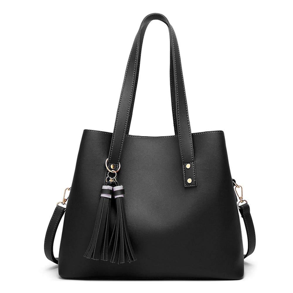 FLYSXP Damen Tasche Schlanke Minimalistische Handtasche Wilde Farbe Einzelne Umhängetasche Damen Große Tasche Europäische Und Amerikanische Handtaschen, 35x15x29cm Damenhandtasche (Farbe   SCHWARZ) B07L1N7HZ6 Umhngetaschen Flut Schuhe List