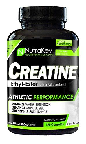 NutraKey Creatine Ethyl Ester Capsules, (L-arginine Ethyl Ester)