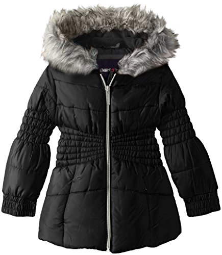 LiMiTeD Too Girls' Too Puffer W/Novelty Smocking Detail