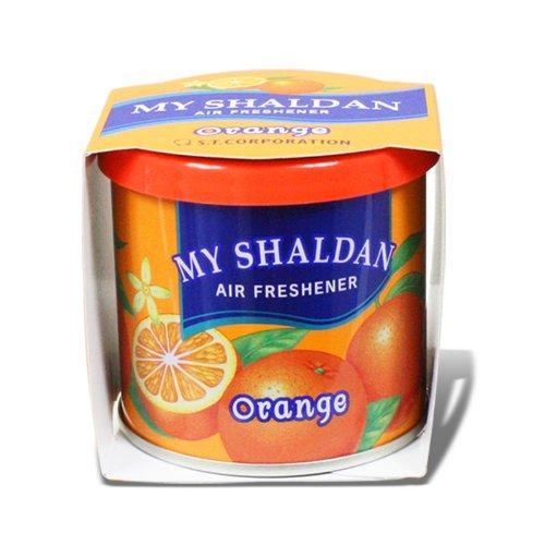 My Shaldan Japanese Car Cup-Holder Natural Air Freshener Cans (Orange Scented)