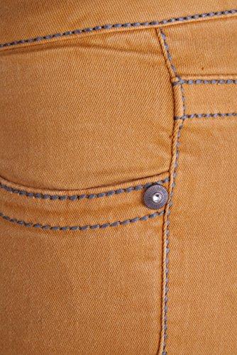 Cbw 0450 amp; Cipo Donna Jeans Baxx Mustard Da pq4wwgx