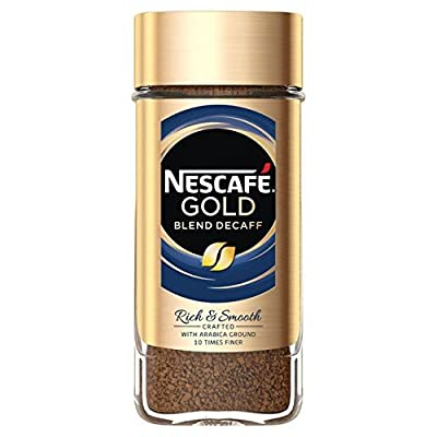 Nescafe Gold Blend Decaff Instant Coffee - 100g (0.22lbs)