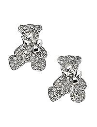 5a9525fb6 Sparking Rhinestone Brooches Pretty for Women Wedding Bridal Crystal Brooch  Pins Scarf Pins 2pcs
