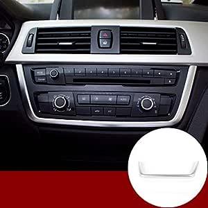 GXDD Marco Car Center Console Decorazioni Trimper En Forma For El BMW Serie 3 GT 4 F30 F31 2013 2014 2015 2016 Accesorios Del Interior Del Coche Chrome Decoraci/ón Interior Del Coche Color Name : A