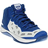AND1 Men's Fantom Basketball Shoe,Surf The Web/White/White,US 12 M