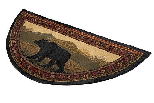 Oriental Classic Bear Hearth Rug, 15002
