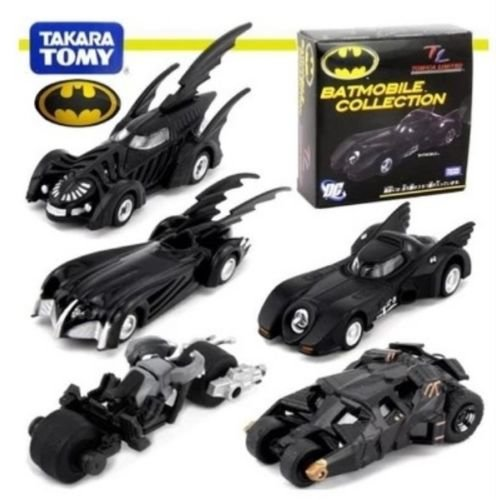 The Dark Knight Batman Set 5 Mini Batmobile Toy Collection New In Box