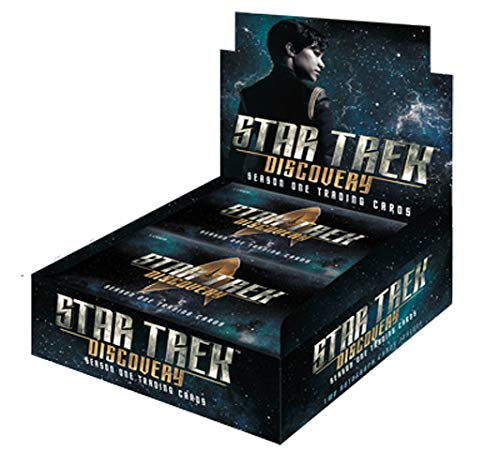 Rittenhouse 2019 Star Trek Discovery Season 1 Factory Sealed Card Box with 2 Autographs