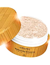 Translucent Mineral Matte Face Powder for Makeup Finishing Foundation Setting Control Coverage Maquillaje Minerals Spray Acne Oil Concealer Bare Me Loose Polvo Puff Skin Air and Fit Full La Light