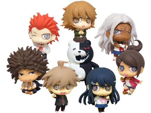 Algernon Product DANGAN RONPA The Animation Super High-School Level CHIMI Chara Trading Figure Collection Vol.1 BOX