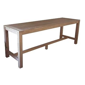 Greenwood Tavoli Da Giardino.Greenwood Bancone Bar In Teak Riciclato Da Giardino 250x75 Wrt 05