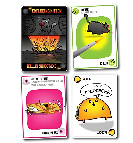 Exploding Kittens: A Card Game About