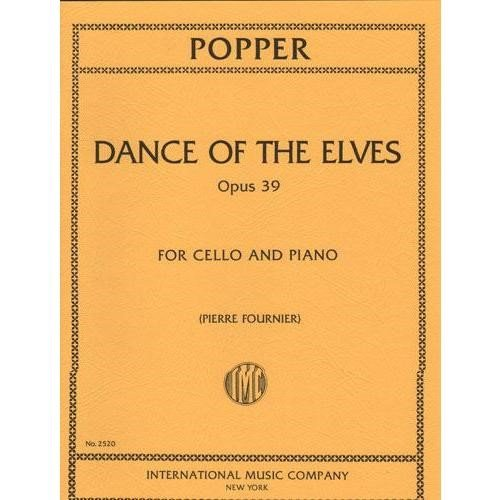 Popper David Dance of the Elves Op39. For Cello and piano. by Pierre Fournier. International