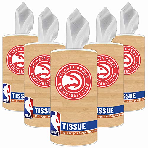 NBA Atlanta Hawks Accessories Party Supplies & Party Decorations Tissue Cups 5-Pack]()