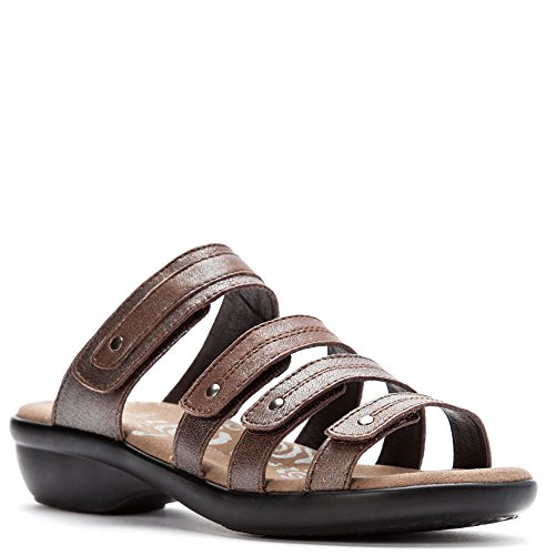 Propét Womens Aurora Slide Bronze lowest price cheap online clearance supply clearance cheap real Yc2fDCJYU