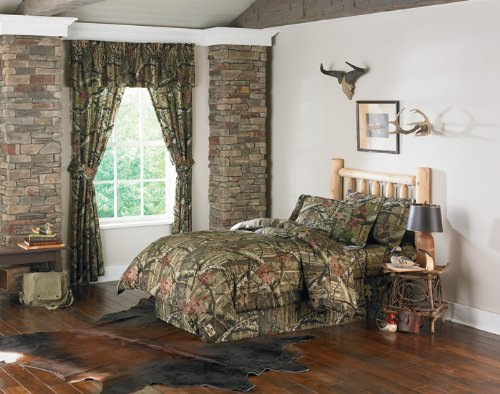 Mossy Oak Break-Up Infinity Comforter, Bed Skirt, and Pillow
