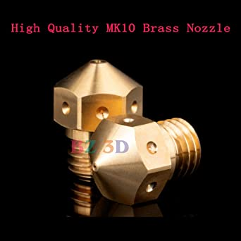 Boquilla de latón BZ 3D MK10 de alta temperatura, boquilla de ...