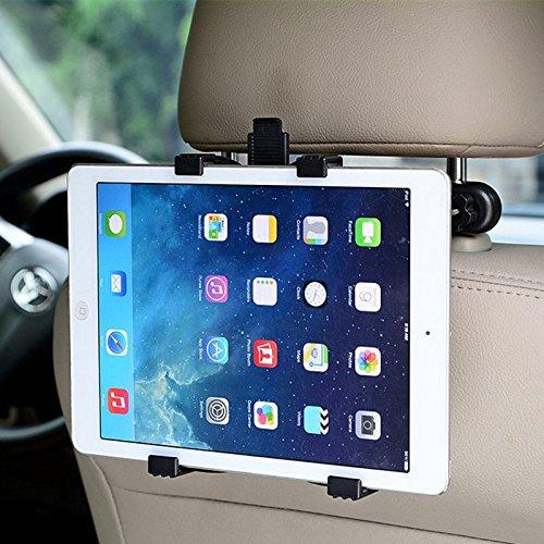 'Voiture appui-tête Support Tablette réglable pour siège arrière voiture monter rotative à 360 ° pour Apple iPad 2/3/4/Mini/Air/Pro, Samsung Galaxy Tab, Microsoft Surface de 7-11 'Tablet PC Ebuy.Inc