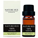 Nature Hue – Vetiver Essential Oil 10 ml, 100% Pure Therapeutic Grade, Undiluted