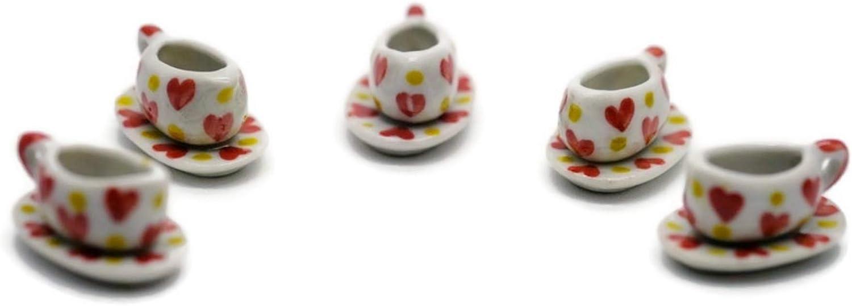 Buy Easy 5 Set Lovely Vintage Milk Jug Decor Set Dollhouse Miniatures Food Kitchen Decoration